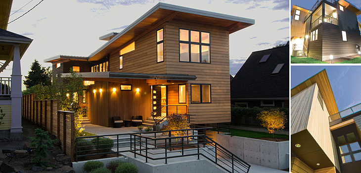 Lee edwards residential design helping you design and for Northwest contemporary homes
